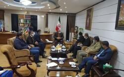 حمایت استاندار کردستان از کشتی در دیدار با علیرضا دبیر