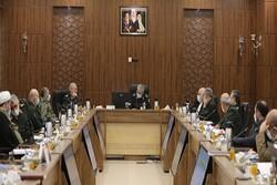 جلسه شورای سیاستگذاری همایش مطالبات حقوقی دفاع مقدس برگزار شد