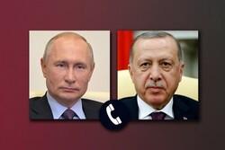 "بوتين وأردوغان يبحثان اخر التطورات حول ""قره باغ"""