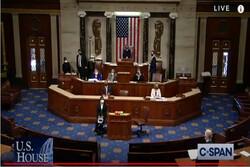 امریکی ایوان نمائندگان نے صدر ٹرمپ کے خلاف مواخذے کی منظوری دے دی