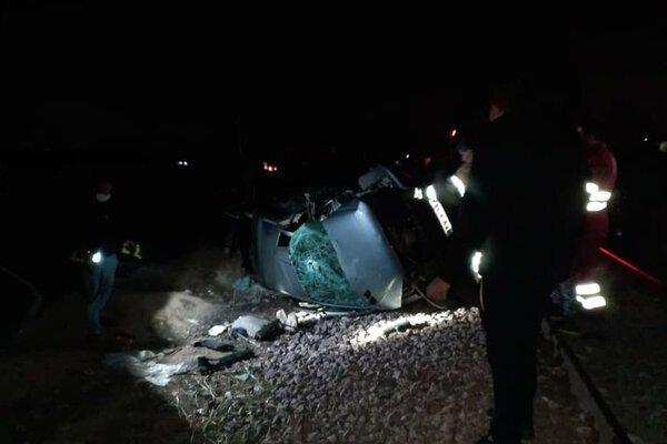 تصادف جاده قلعه شور اصفهان ۳ کشته و یک مصدوم داشت