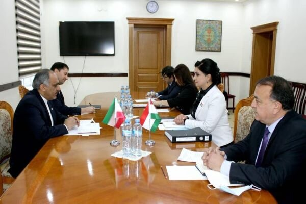Tehran, Dushanbe discuss on labor market, entrepreneurship