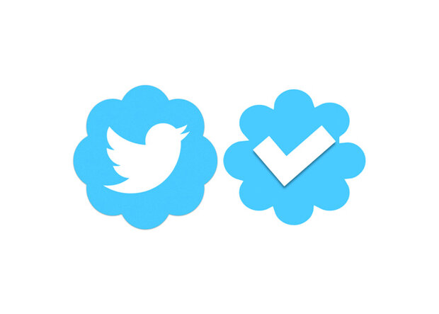 What is a verified badge on social media ?