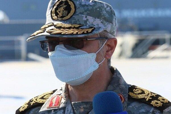 اللواء باقري: سنرد في أقصر وقت على أي خصم يفكر بالاعتداء على ايران