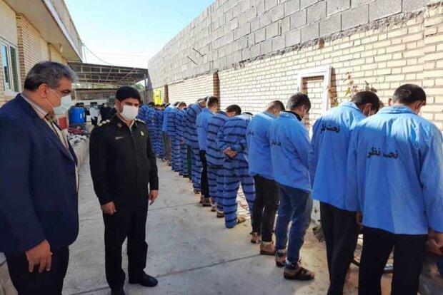 ۴۰ سارق متواری در هرمزگان دستگیر شدند