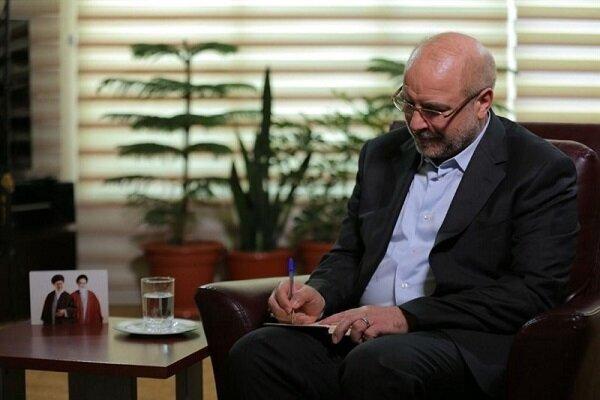 Ghalibaf condoles with Indonesian counterpart on plane crash