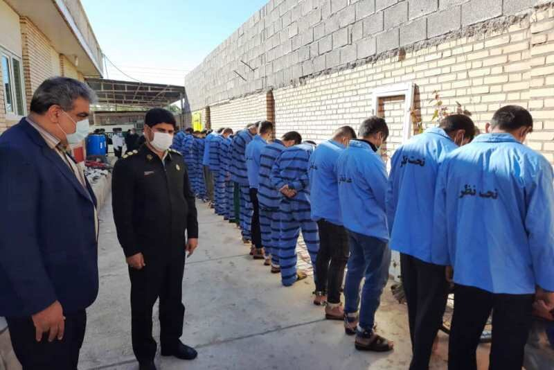 ۱۹ سارق مسلح در دزفول شناسایی و دستگیر شدند