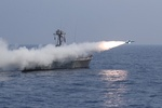 Navy successfully launches cruise missiles, torpedo in drill