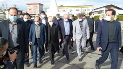 وزیر اقتصاد ودارایی از واحدهای صنعتی آمل بازدید کرد