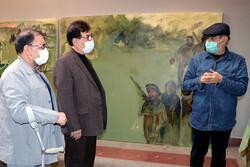 بازدید دبیر شورای هنر شورای عالی انقلاب فرهنگی از «در رثای سیمرغ»
