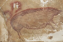 One of oldest known cave paintings found in Indonesia