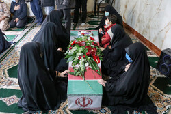 تبریز میں دفاع مقدس کے گمنام شہیدوں کا استقبال