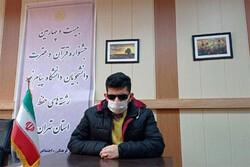 حافظ روشندل قرآن رتبه اول مسابقات قرآن دانشگاه پیام نور راکسب کرد
