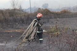۲۱ هزار متر مربع از علفزارهای رشت در آتش سوخت