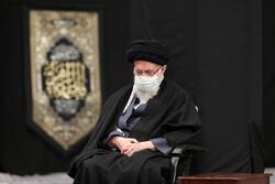 رہبر معظم انقلاب اسلامی کی موجودگی میں ایام فاطمیہ کی مناسبت سے مجلس عزا منعقد