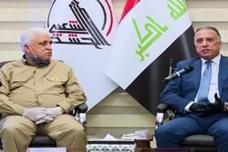نخست وزیر عراق با رئیس سازمان حشد شعبی دیدار کرد