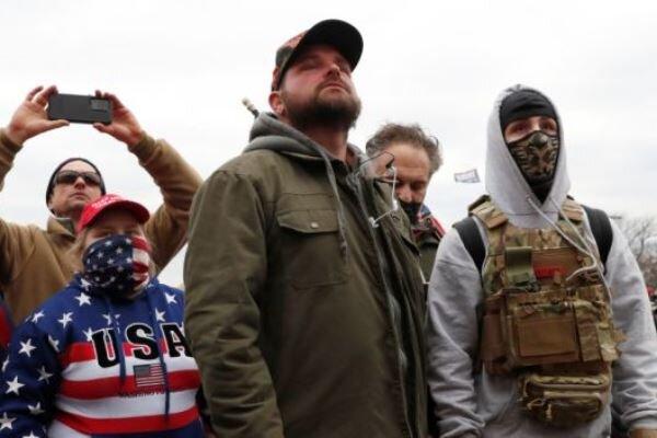 Trump destekçisi ve karşıtı gruplar arasında arbede