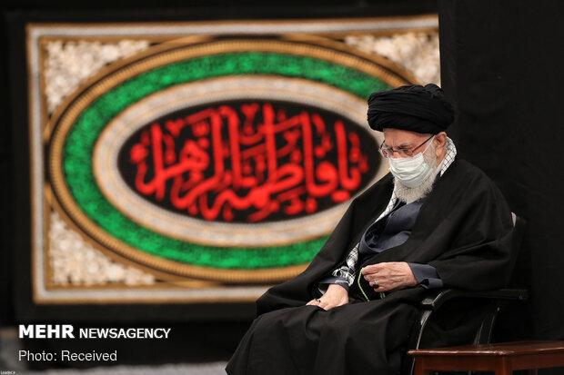 حسینیہ امام خمینی (رہ) میں حضرت فاطمہ (س) کی شب شہادت کی مناسبت سے مجلس عزا منعقد