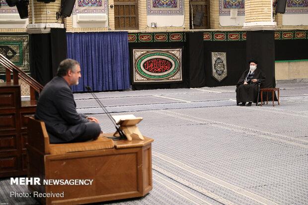 1st night of Fatemeh Zahra's (PBUH) mourning ceremony