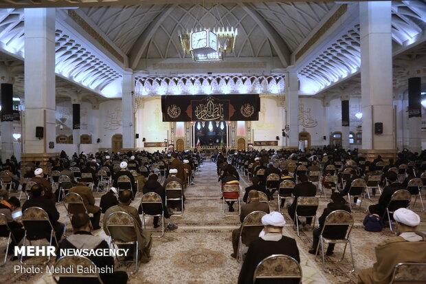 مراسم چهلمین روز ارتحال آیت الله یزدی در قم