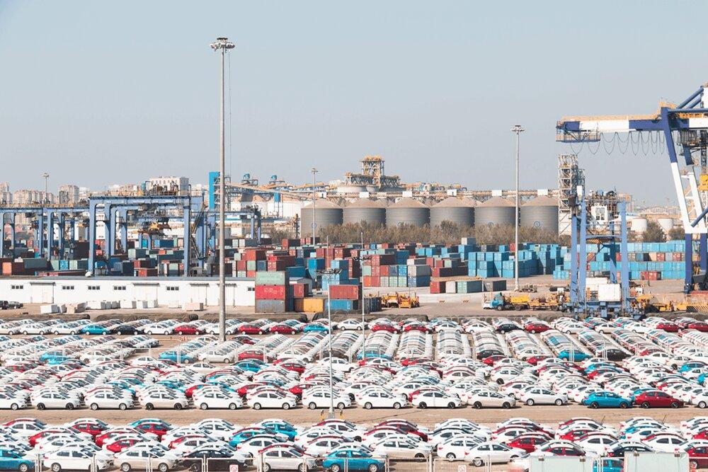 خودروي،صادرات،خودرو