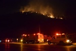 آتش دوباره به جان جنگل های نوار مرزی آذربایجان و ایران افتاد
