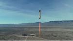 موشک «نیوشپارد» همراه یک مانکن به فضا پرتاب شد