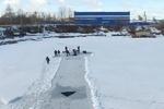 تفریح روی سد یخ زده طزرجان ۲ جوان را به کام مرگ کشاند