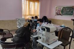 ویزیت رایگان ۳ هزار بیمار کردستانی توسط گروه های جهادی چشم پزشکی