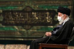 حسینیہ امام خمینی (رہ) میں ایام فاطمیہ کی مناسبت سے دوسری شب میں مجلس عزا منعقد