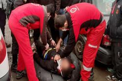 حادثه مصدومیت جوان ۱۶ ساله بر اثر تیوپ سواری در آبعلی