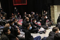 Hazrat Zahra mourning ceremony held in Tehran