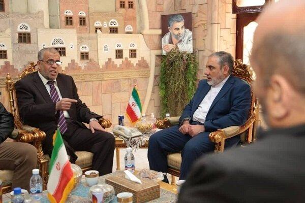 السفير الإيراني في اليمن يلتقي بممثلي الفصائل الفلسطينية