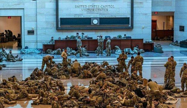 تنصيب بايدن وسط اجراءات امنية في واشنطن