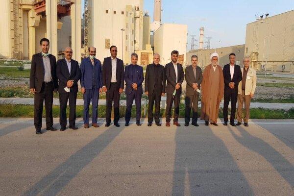 اعضای کمیسیون انرژی مجلس از نیروگاه اتمی بوشهر بازدید کردند
