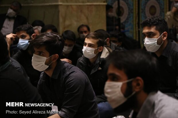 Hazrat Zahra mourning ceremony held in Tehran