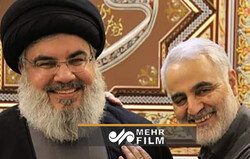 سید حسن نصر اللہ اور شہید قاسم سلیمانی کی ملاقات کی آخری تصویریں