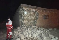 مصدومیت یک نفر در حین فرار بر اثر وقوع زلزله در هرمزگان