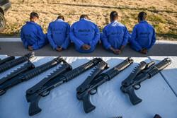 اجرای طرح صاعقه نیروی انتظامی در شیراز