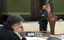 نوحه خوانی ایام فاطمیه در جلسه ستاد ملی مبارزه با کرونا