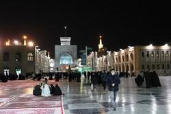 VIDEO: Snowfall in Imam Reza Holy Shrine