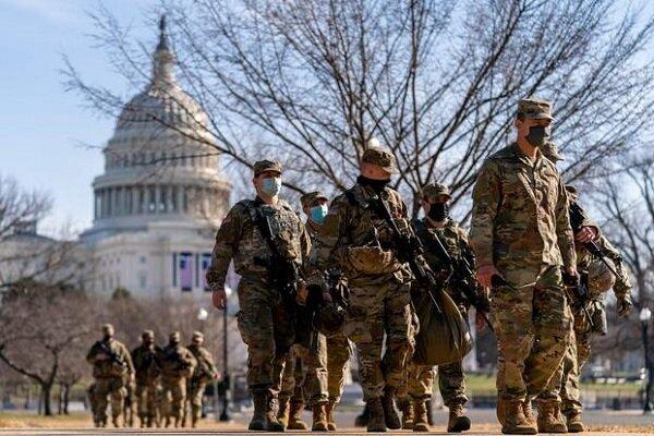Pentagon authorizes up to 25,000 troops to protect Washington