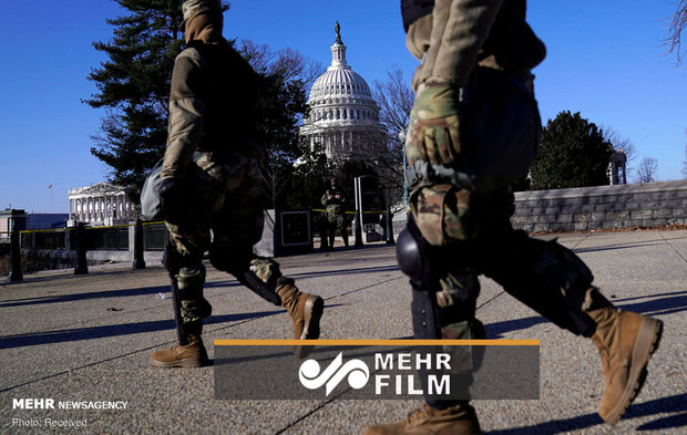 VIDEO: Washington DC on high alert ahead of inauguration day