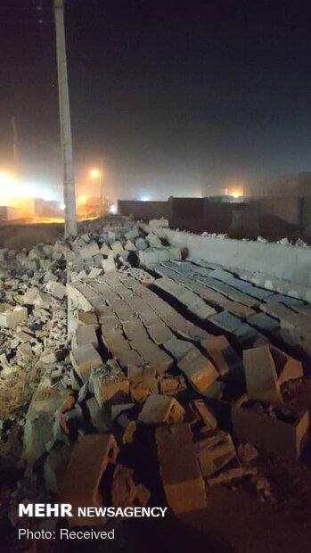 وقوع زلزله ۵.۵ ریشتری در بندرکنگ  قشم