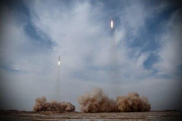 شلیک موشکهای بالستیک سپاه به عمق اقیانوس هند,