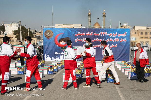 ۴۴۲۰ بسته معیشتی میان نیازمندان استان تهران توزیع شد