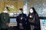 استقبای خانواده شهید جعفر نوروزی از پیکر این شهید پس از ۳۰ سال