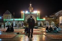 درب های حرم  حضرت عبدالعظیم تنها از ساعت ۷ صبح الی ۱۹ باز است