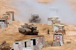 رژیم صهیونیستی در اطراف نوار غزه رزمایش برگزار میکند