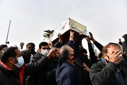مراسم تشییع  پیکر مطهر ۴ شهید دفاع مقدس در اصفهان